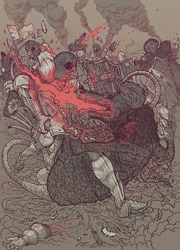 Guerra illustration