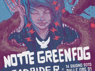 Greenfog Gig Poster